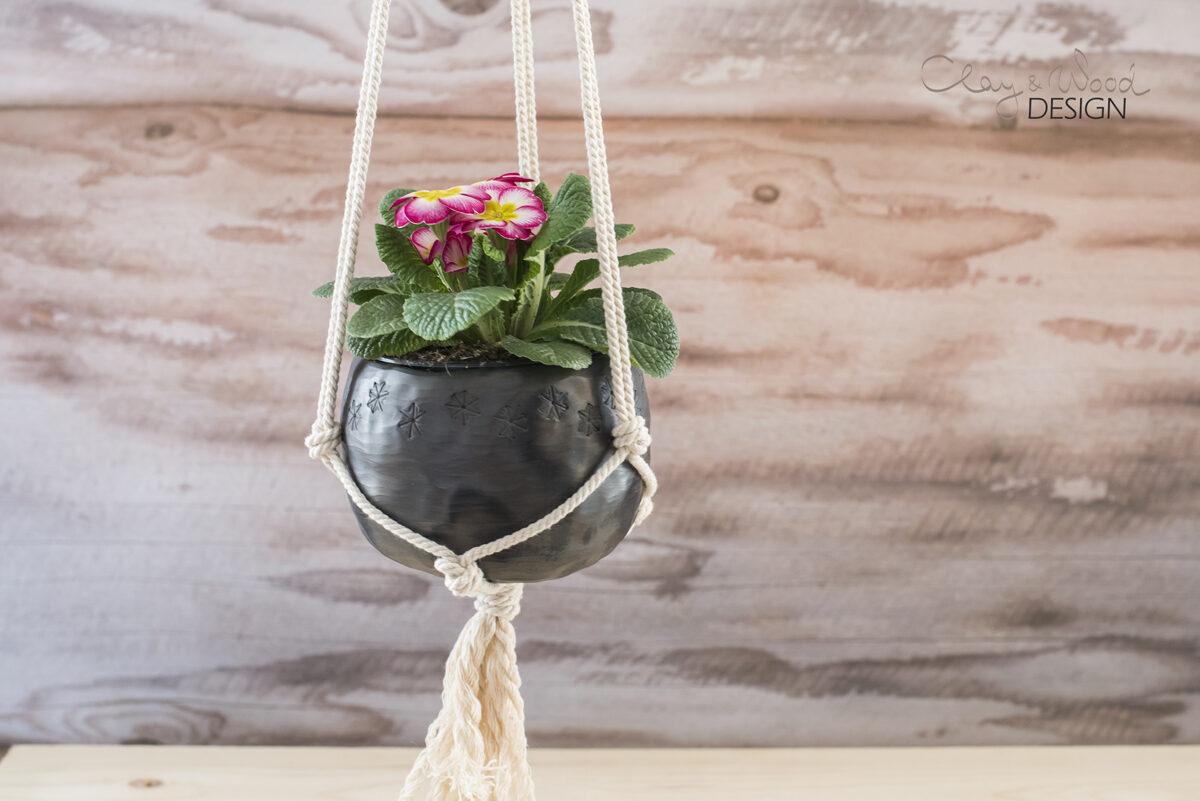 Melnās keramikas bļodiņa -trauciņš